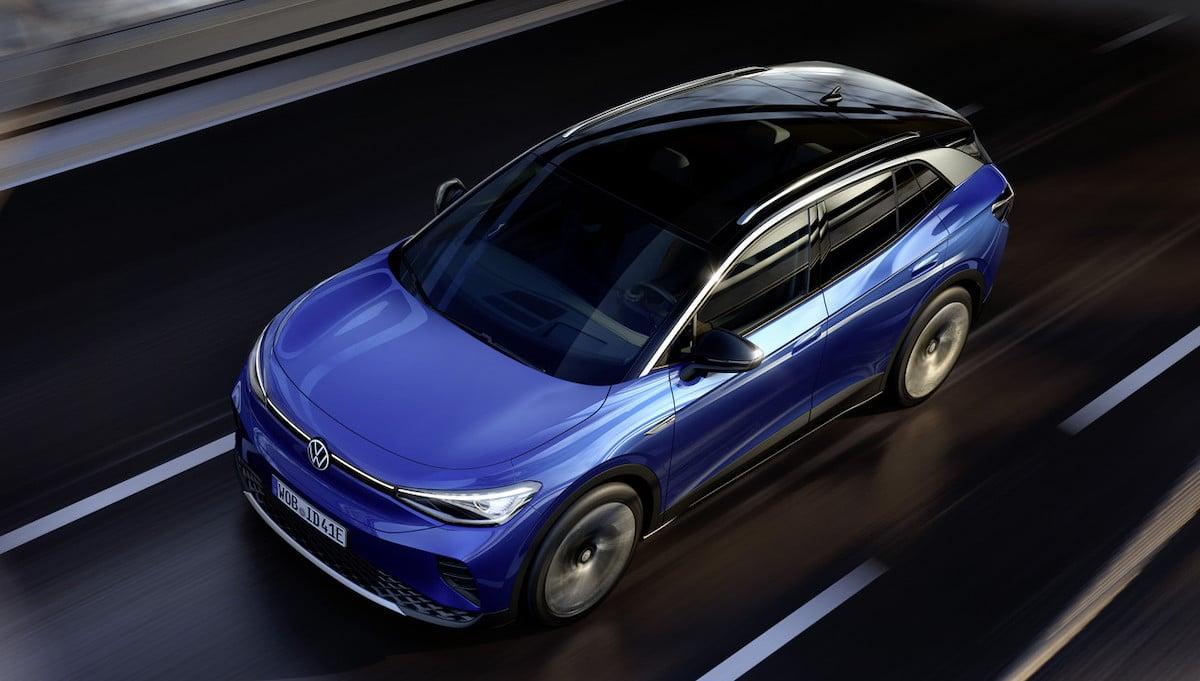 Volkswagen ID.4 (2021): przód