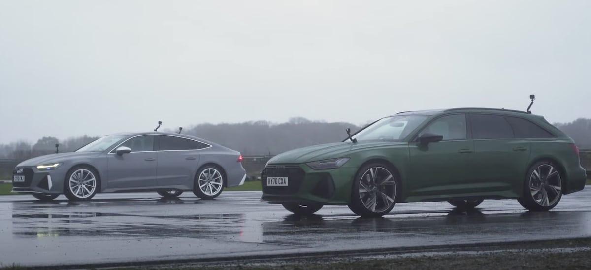Audi RS6 Avant vs. Audi RS7 Sportback (2020): pojedynek