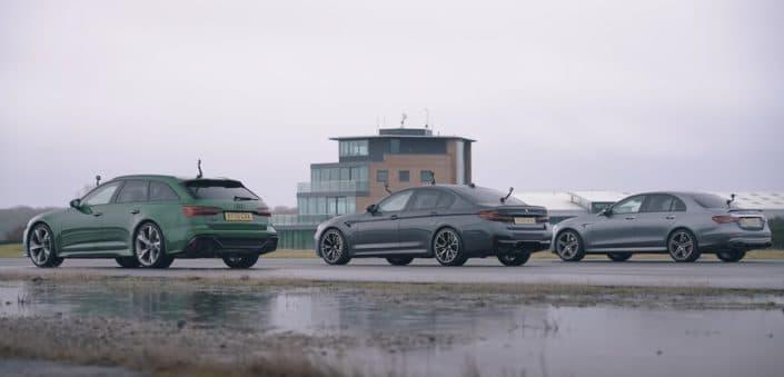 Audi RS6 vs. BMW M5 vs. Mercedes-AMG E63