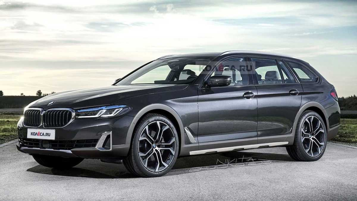 BMW serii 5 Cross Touring: rendering