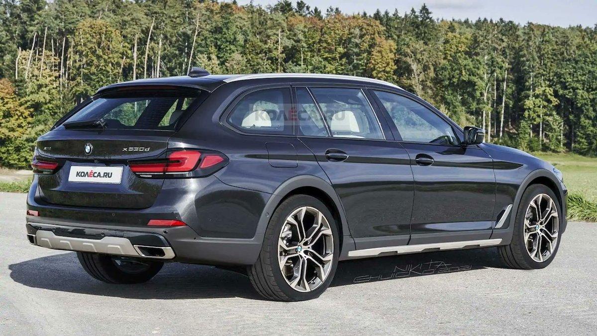 BMW serii 5 Cross Touring: rendering