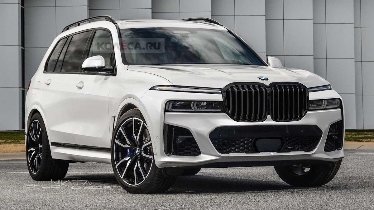 BMW X7 (2022): rendering