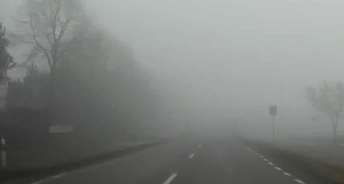Jazda podczas mgły