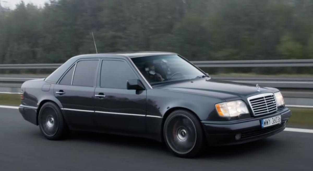Mercedes 124 o mocy 600 KM