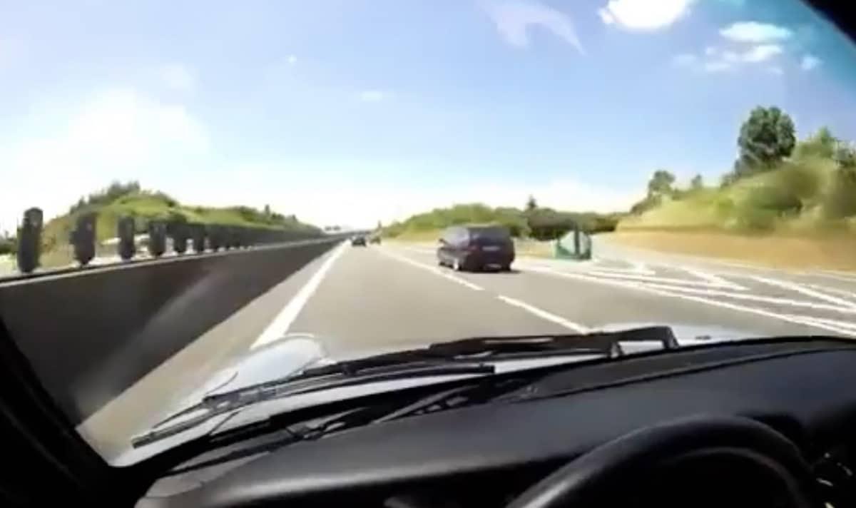 Porsche 911: jazda po autostradzie