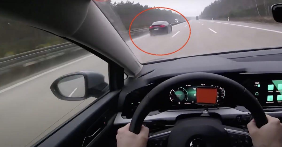 Volkswagen Golf Mk8 vs. Porsche Panamera