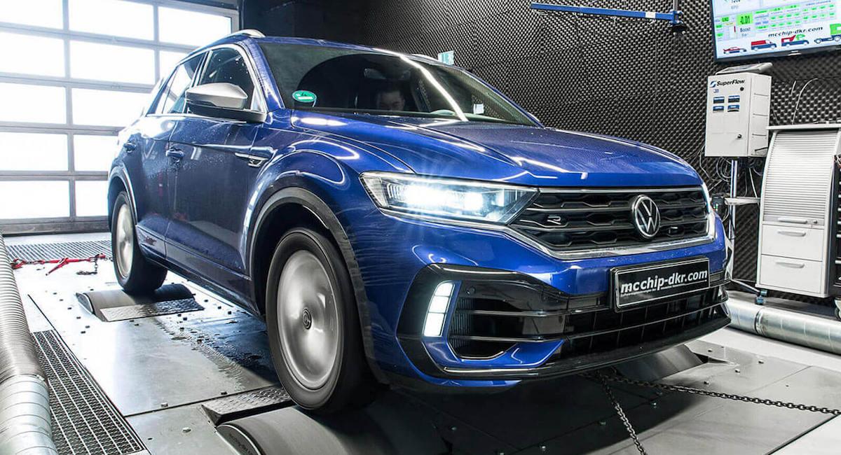 Volkswagen T-Roc R McChip: tuning