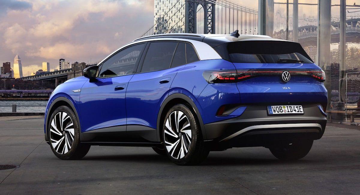Volkswagen ID.4 (2021): tył
