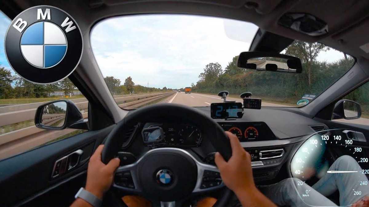 BMW 118i (F40): jazda po autostradzie