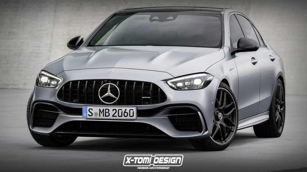 Mercedes-AMG C63 (2022): rendering