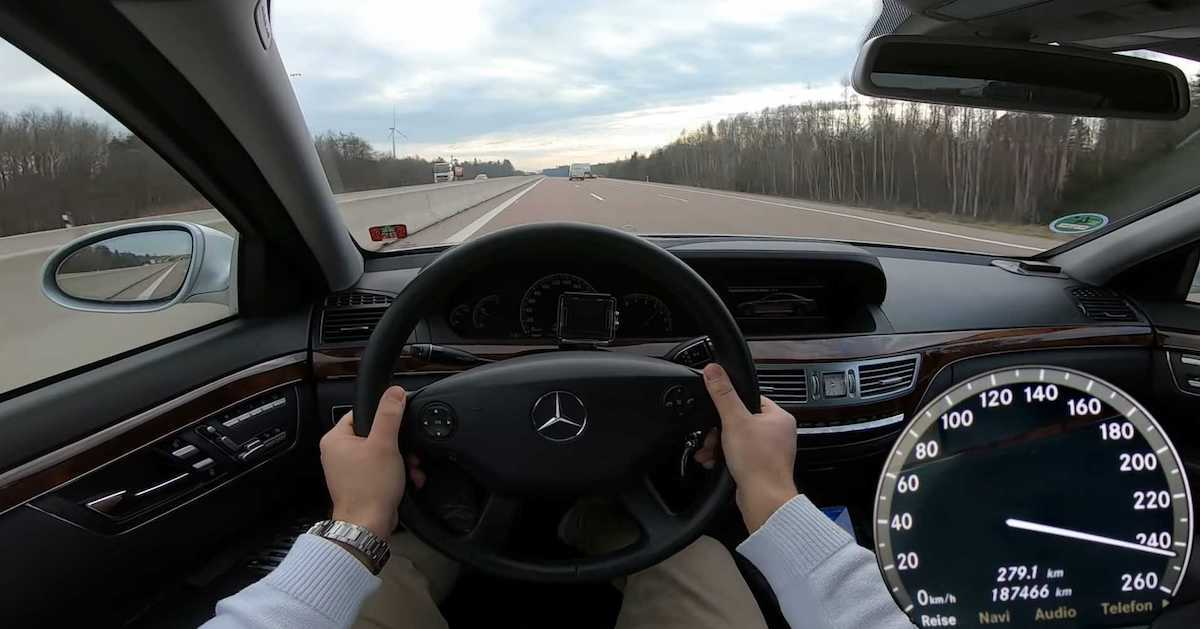 Mercedes Klasy S W221 (S320 CDI)