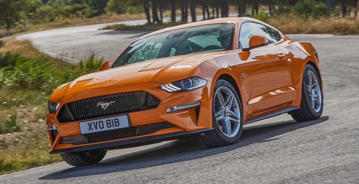 Ford Mustang (2018): facelift, przód