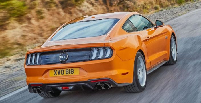 Ford Mustang (2018): facelift, tył