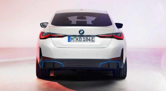 BMW i4 M50 (2022): tył