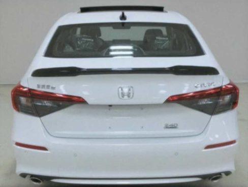Honda Civic XI (2022): wyciek zdjęcia, tył, biała