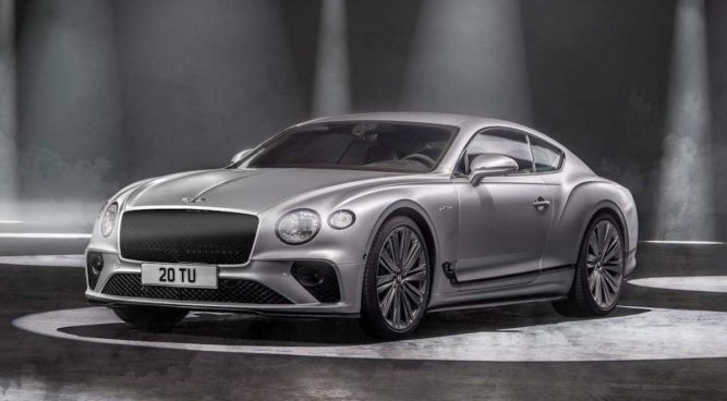 Bentley Continental GT Speed (2021)