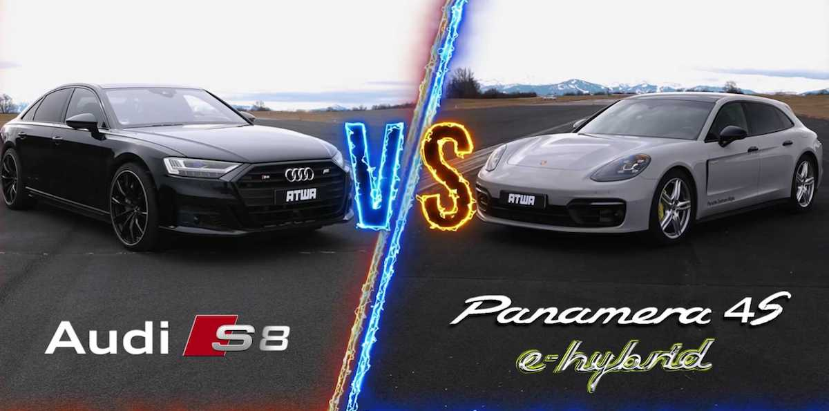 Audi S8 czy Porsche Panamera 4 S E-Hybrid