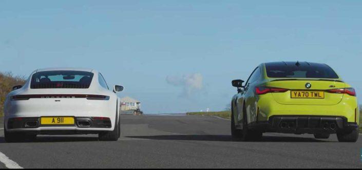 Porsche 911 Carrera vs. BMW M4 Competition