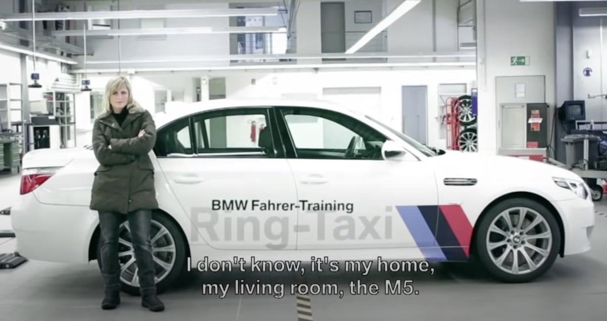 Sabine Schmitz i BMW M5