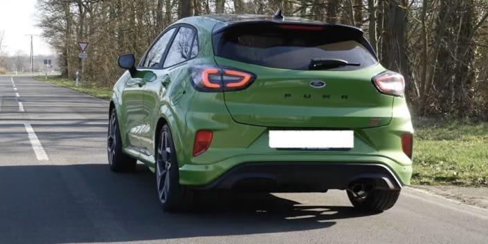 Ford Puma ST: zielony, Java Green