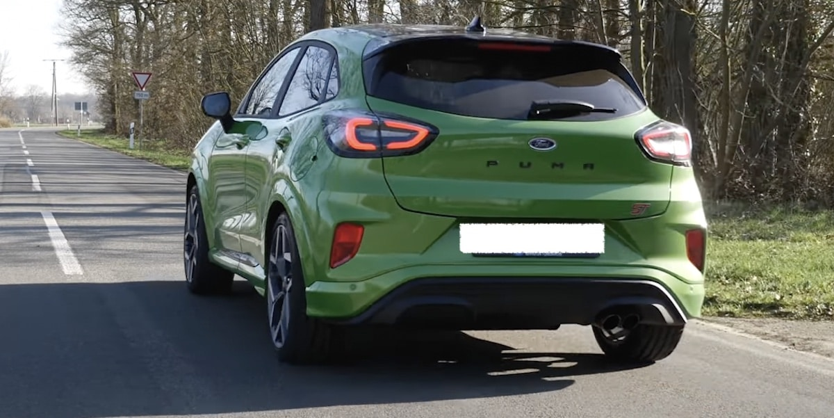 Ford Puma ST: zielony, Java Green
