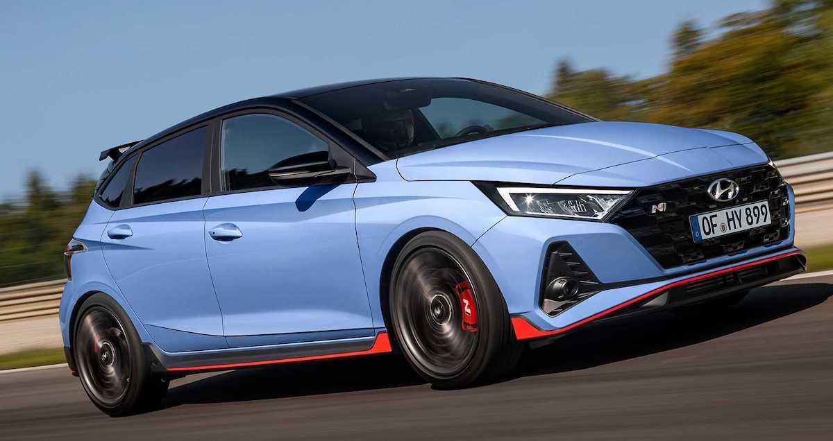 Hyundai i20 N (2021): przód