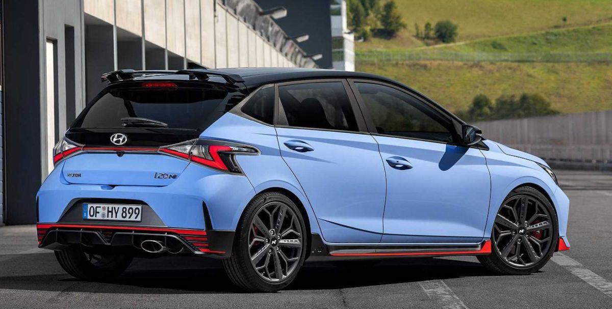 Hyundai i20 N (2021): tył