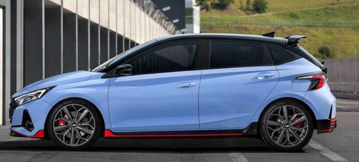 Hyundai i20 N (2021): bok