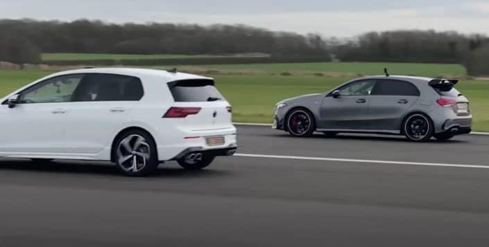 Mercedes-AMG A45 S vs. Volkswagen Golf VIII R