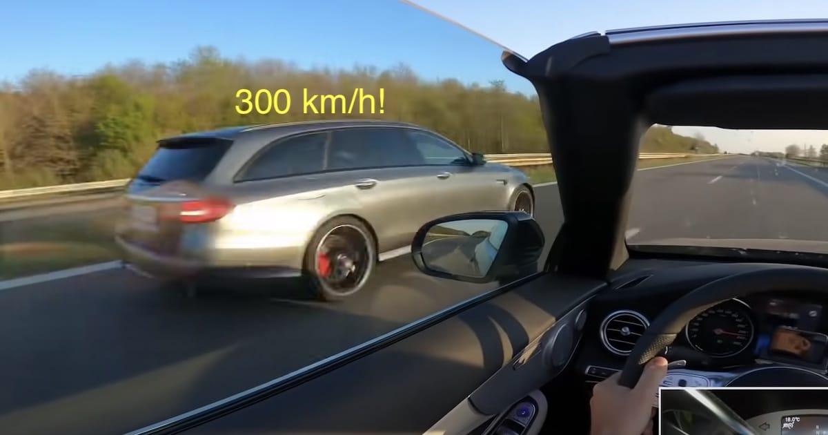 Mercedes-AMG E63 S 4MATIC+ 300 KM/H