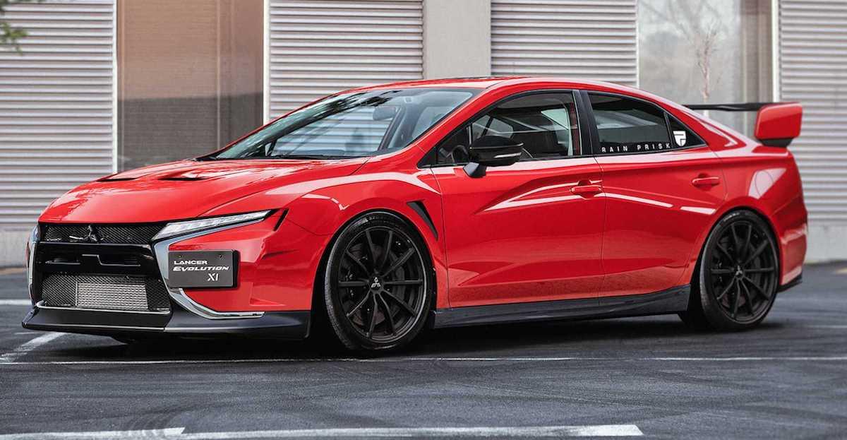 Mitsubishi Lancer Evo XI (rendering)