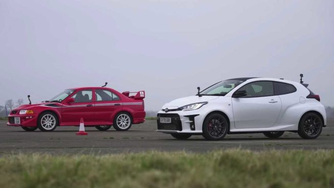 Toyota GR Yaris vs. Mitsubishi Evo VI