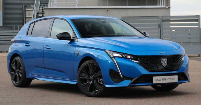 Peugeot 308 2021: Vertigo Blue