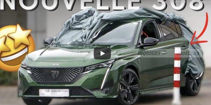 Peugeot 308 (2021): przód