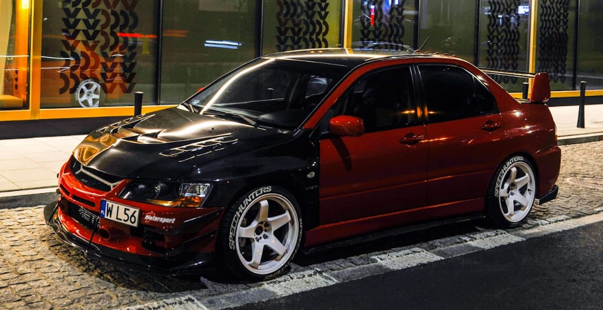 That.red.evo: Mitsubishi Lancer Evo