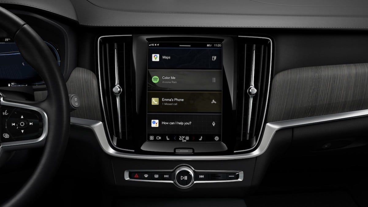 Volvo S90 (2021): infotainment Google, Android