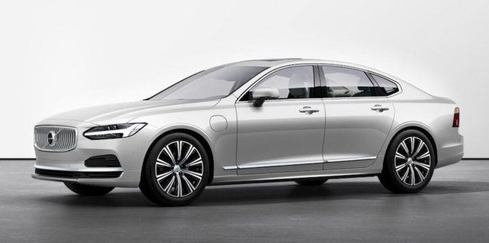 Volvo S90 (2021): przód