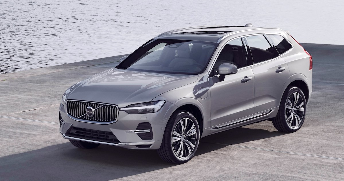 Volvo XC60 lifting (2021)