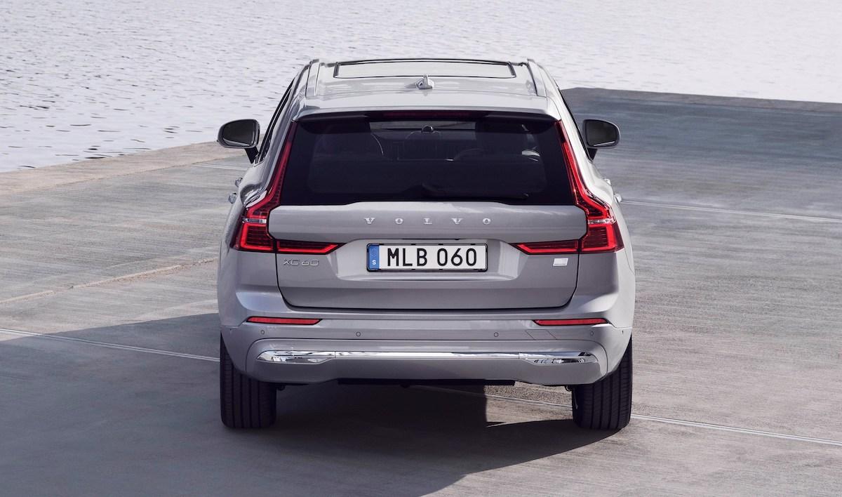 Volvo XC60 lifting (2021)