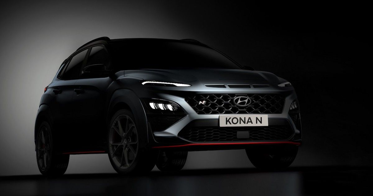 Hyundai Kona N (2022): przód
