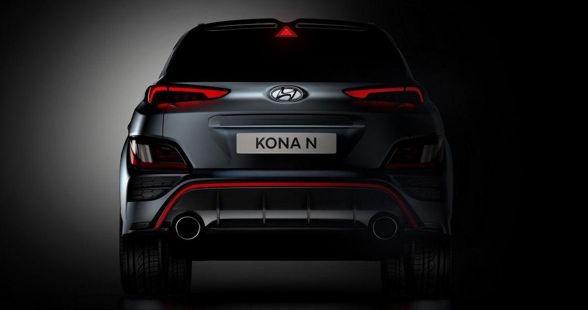 Hyundai Kona N (2022): tył