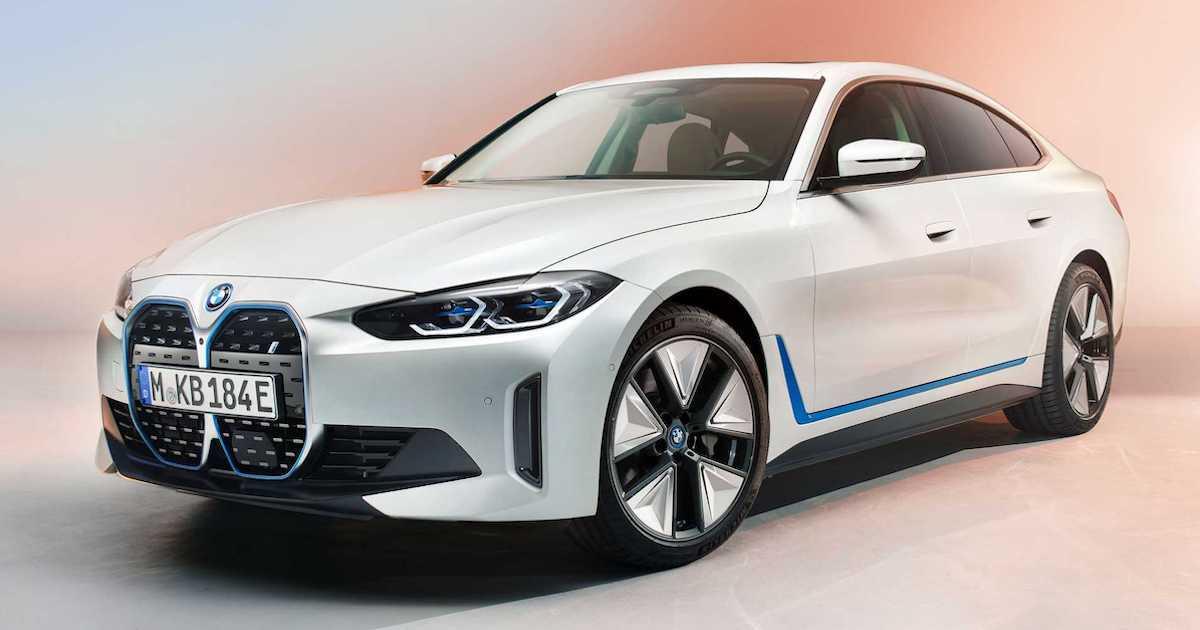 BMW i4 M50 (2022): przód