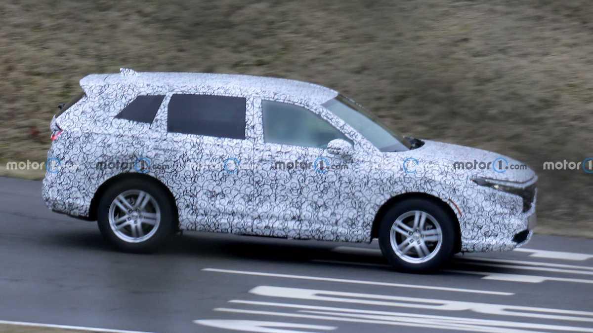 Honda CR-V (2023): prototyp