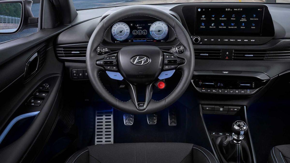 Hyundai i20 N (2021): wnętrze