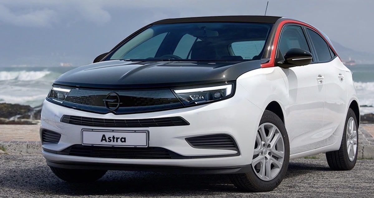 Opel Astra 2022: rendering, fot. Youtube