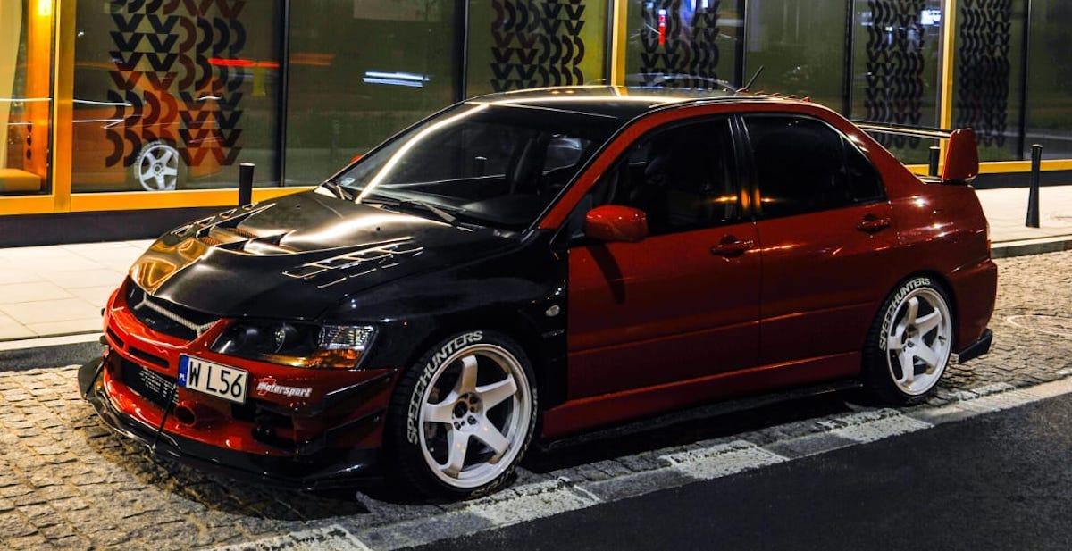 That.red.evo: Mitsubishi Lancer Evo