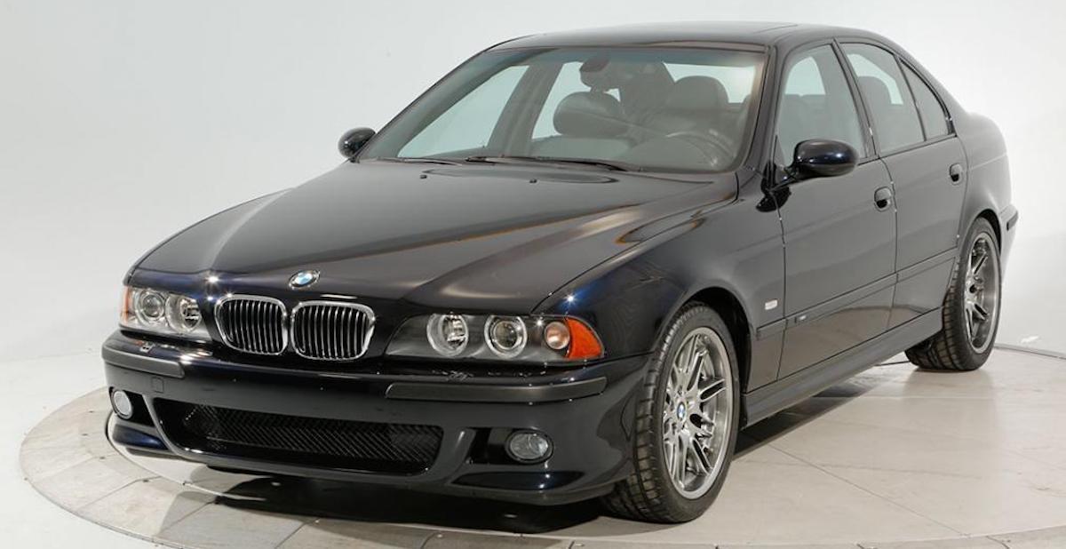 BMW M5 (E39) 2003, przód