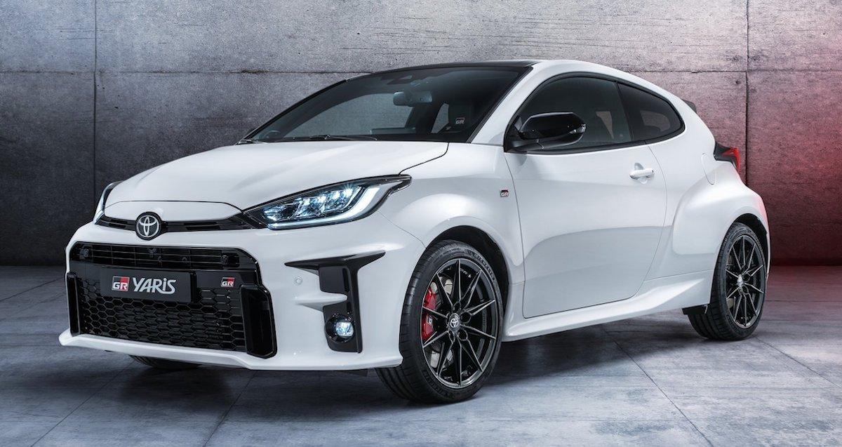 Toyota GR Yaris, biała