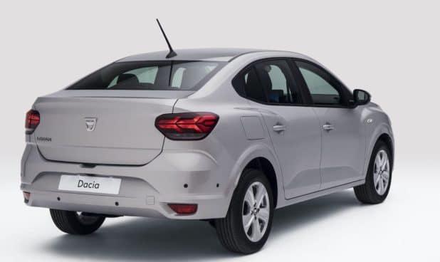 Dacia Logan (2020), tył