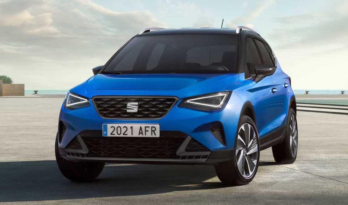 Seat Arona lifting (2021) Sapphire Blue